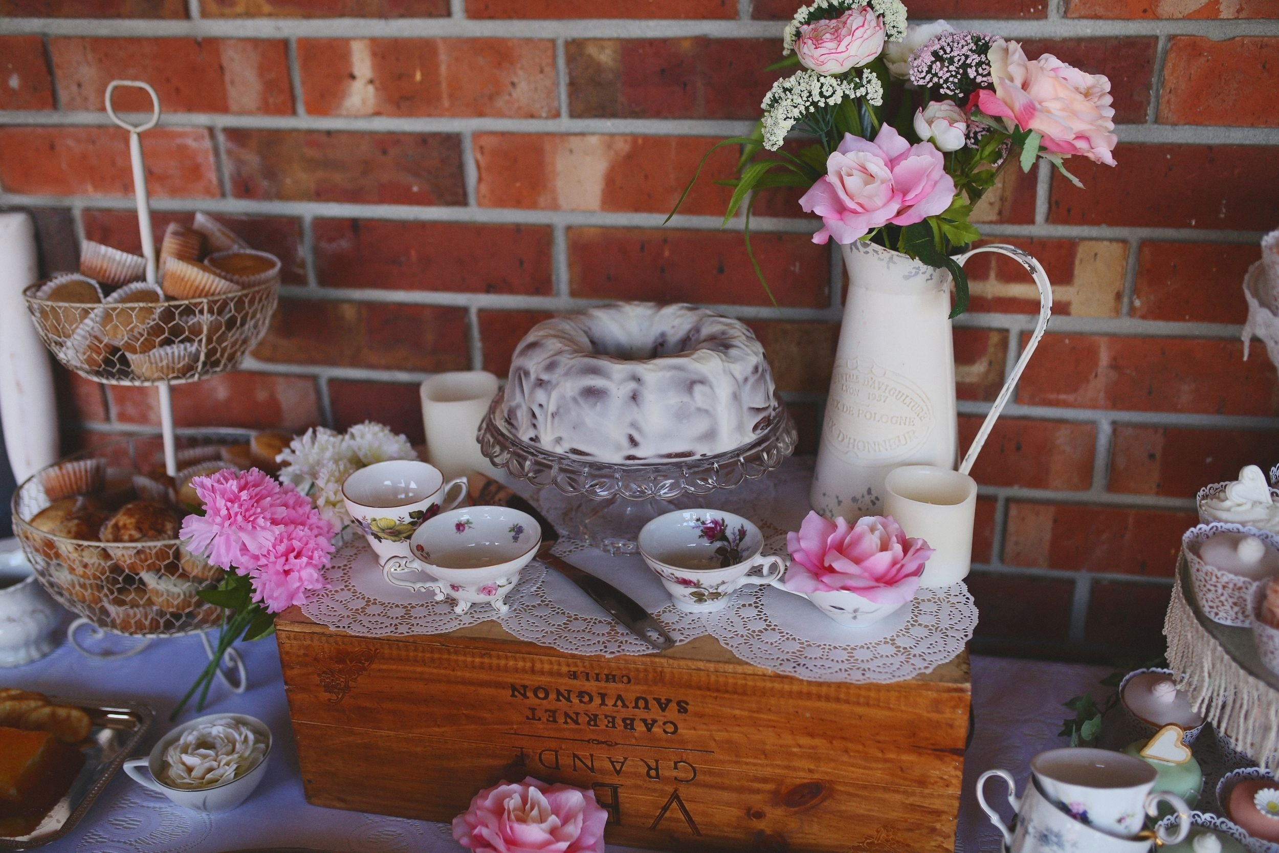 10 Attractive Shabby Chic Bridal Shower Ideas southern belle tea party themed bridal brunch shabby chic bridal 2 2020