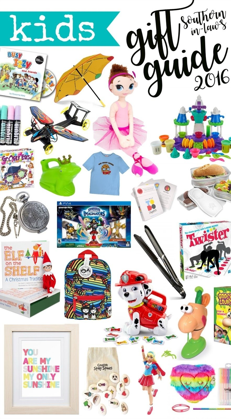 10 Attractive Holiday Gift Ideas For Kids southern in law 2016 kids christmas gift guide 1 2021