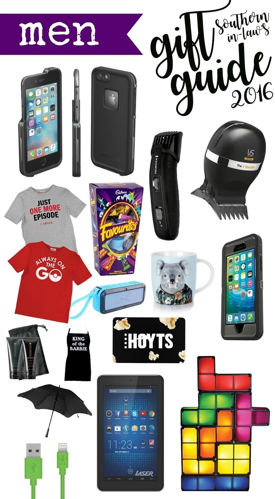 10 Pretty Christmas Gifts Ideas For Men southern in law 2016 mens christmas gift guide 8 2020