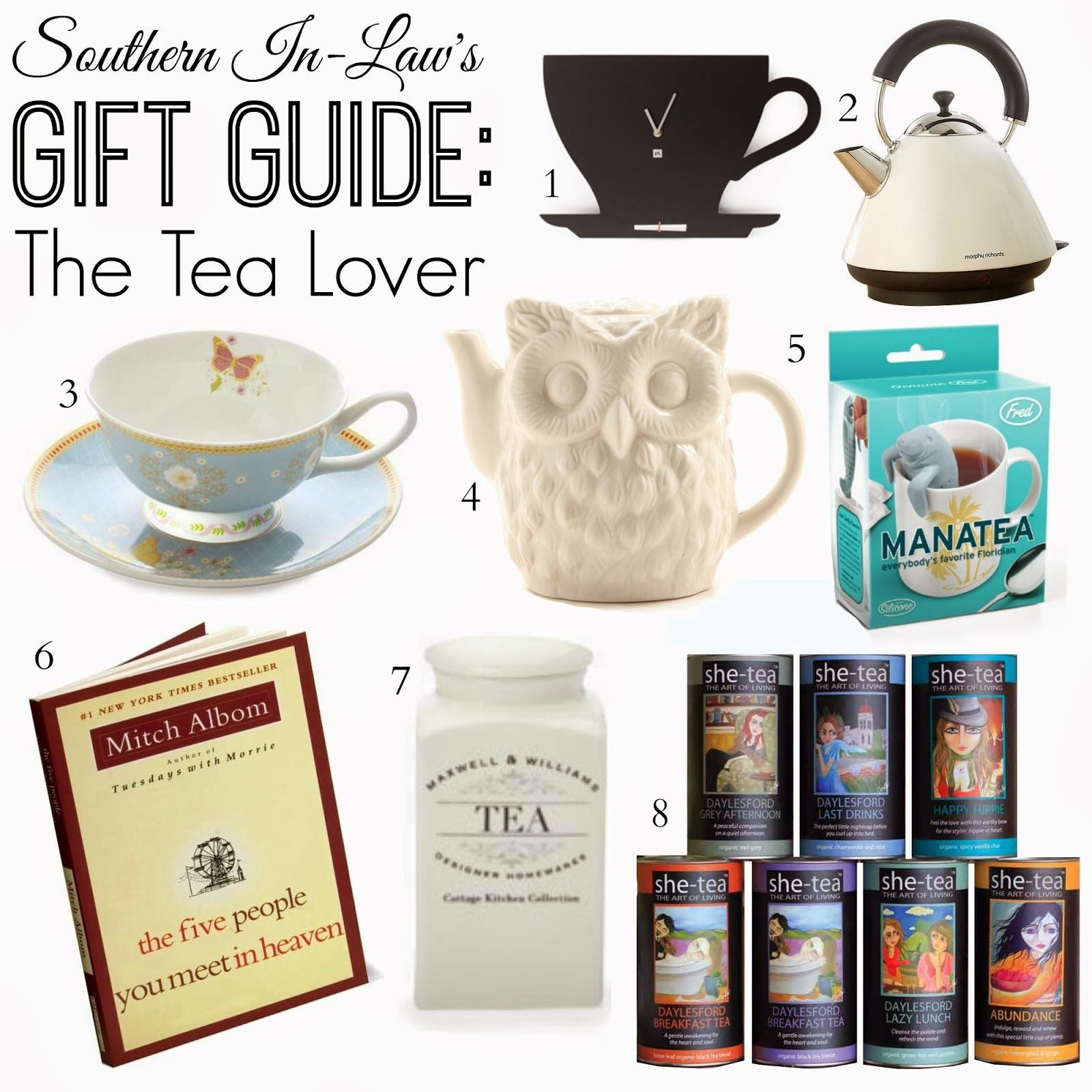 10 Ideal Gift Ideas For Tea Lovers southern in law gift guide for the tea lover 2020