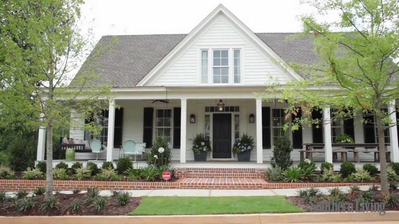 10 Cute Southern Living Idea House 2010 southern livings 2012 farmhouse renovation sneak peek youtube 1