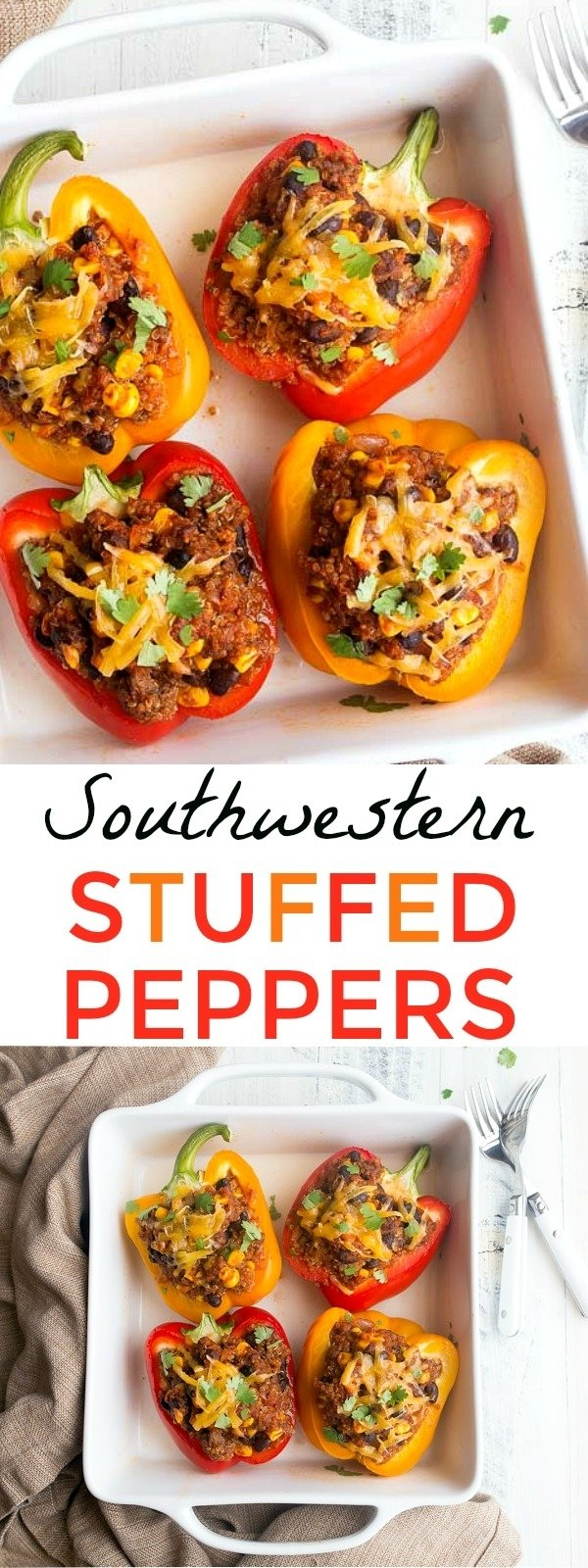 10 Fashionable Ideas For Dinner For Two southwestern stuffed peppers for two dinners for two