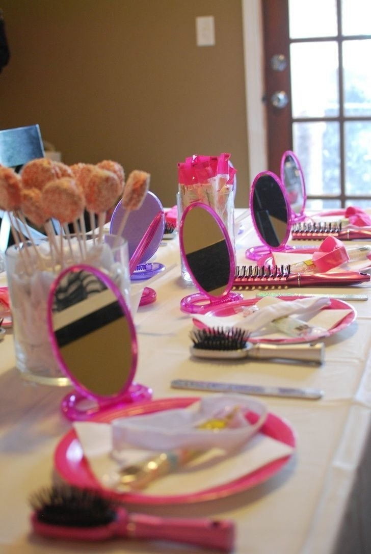 10 Most Popular 7 Yr Old Girl Birthday Party Ideas spa party ideas for 8 yr old girls remember this for the twins via 16