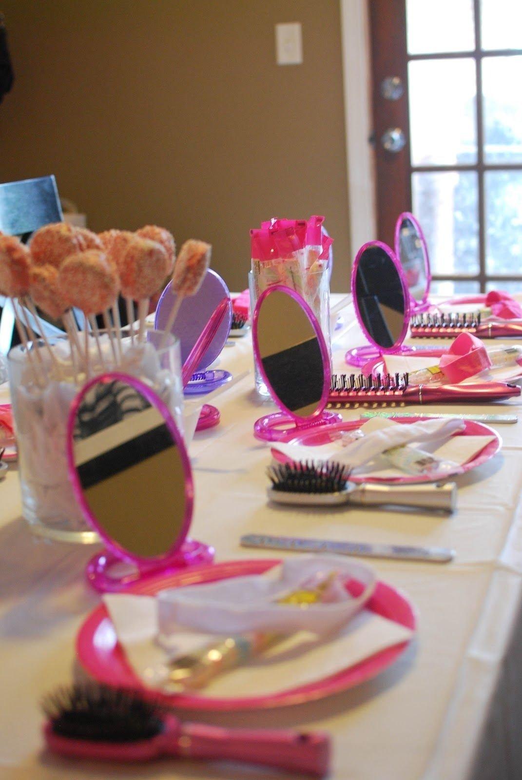 10 Nice 10Th Birthday Party Ideas For Girls spa party ideas for 8 yr old girls remember this for the twins via 21 2021