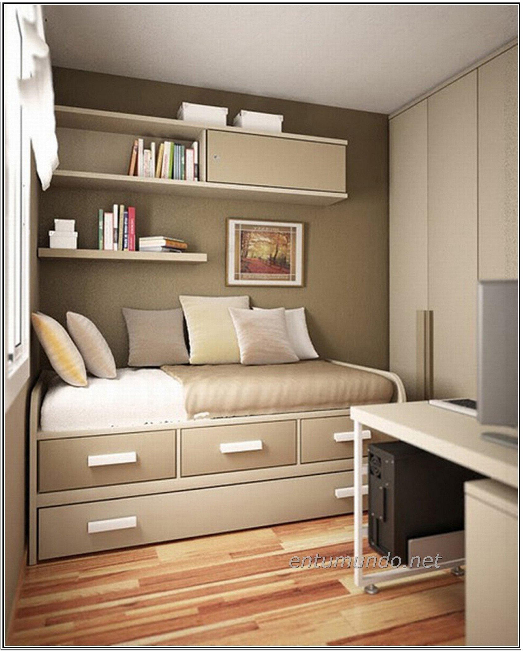 10 Perfect Space Saving Ideas For Small Homes space saving storage ideas for small apartment bedroom living 2020