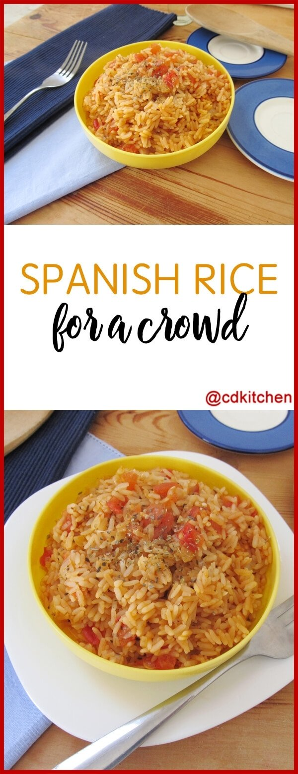 10 Best Cooking For A Crowd Ideas spanish rice for a crowd recipe cdkitchen 2020