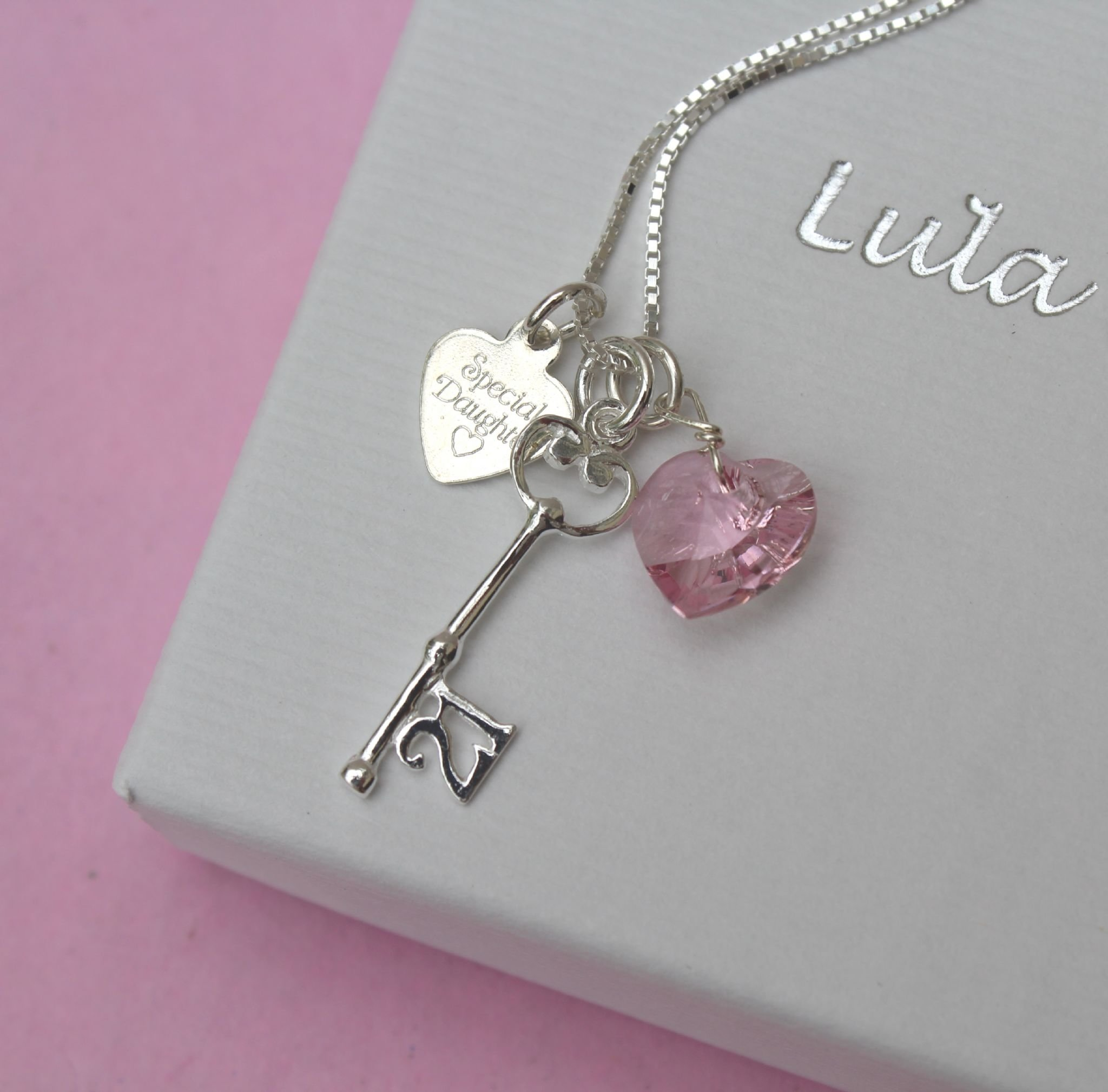 10 Most Popular 21St Birthday Gift Ideas For Daughter special 21st birthday gift necklace 2020