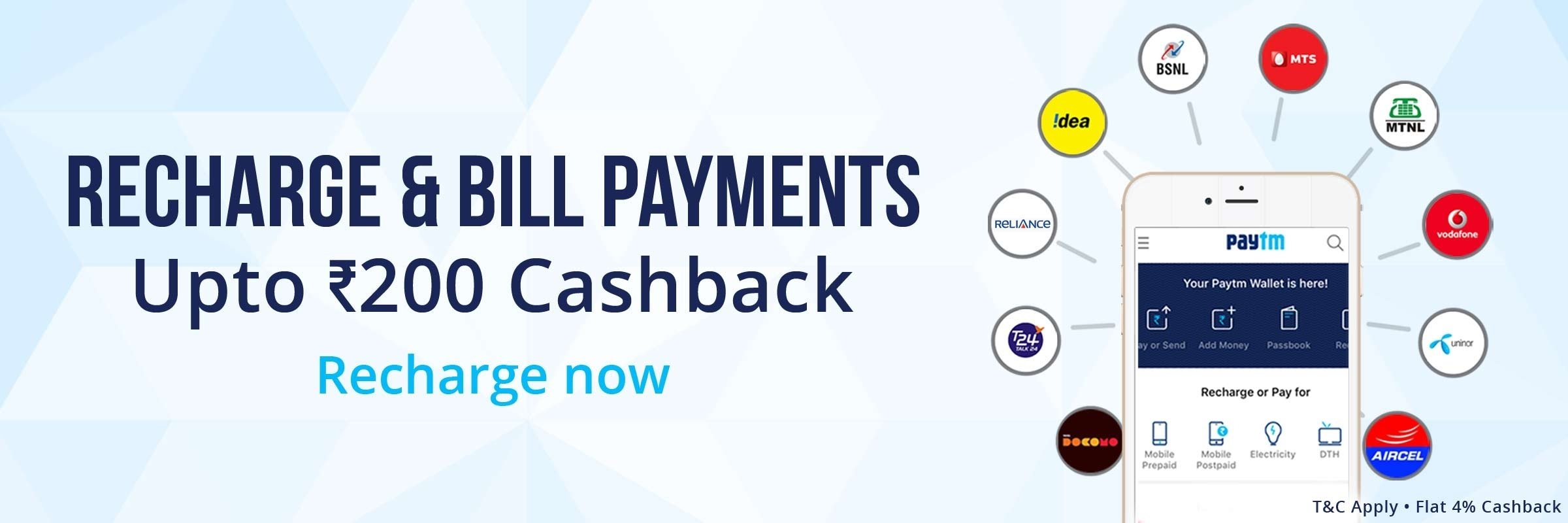 10 Fantastic Idea Postpaid Bill Payment Online special recharge offers 2020
