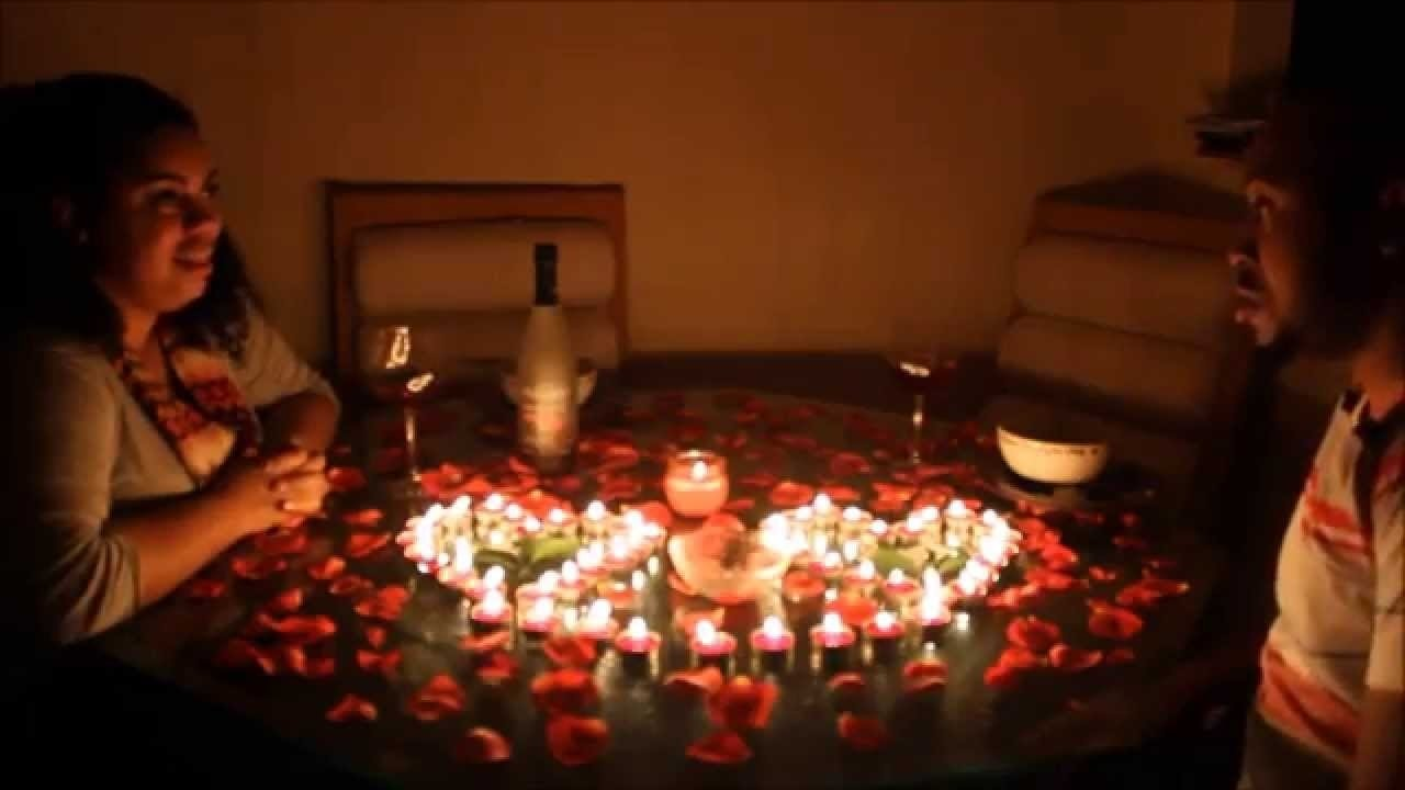 10 Fabulous Ideas For Romantic Night At Home spectacular romantic night ideas at home home designs 4 2020