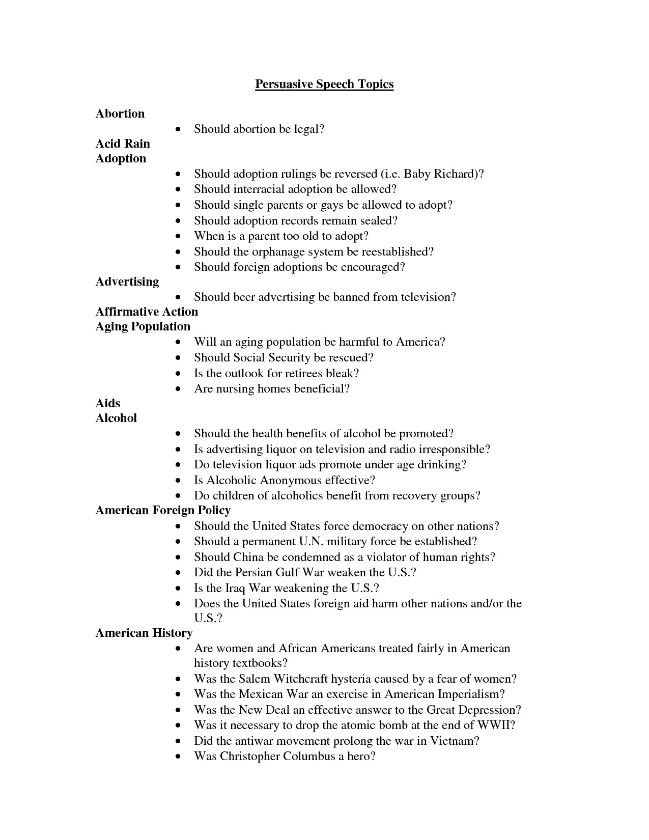 speech template for students | resume