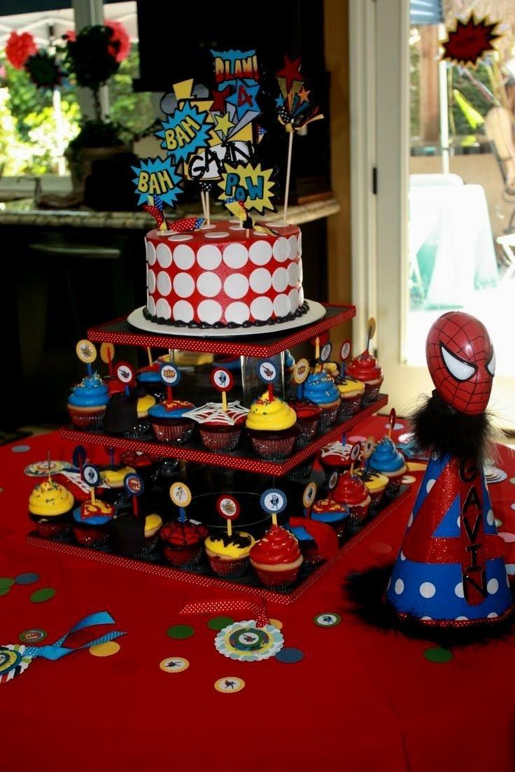 10 Pretty Birthday Party Ideas For 3 Year Old Boy Spiderman