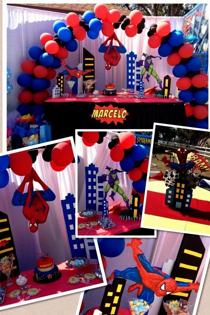 10 Trendy 4 Year Old Birthday Ideas spiderman birthday party ideas 4 year old archives decorating of party