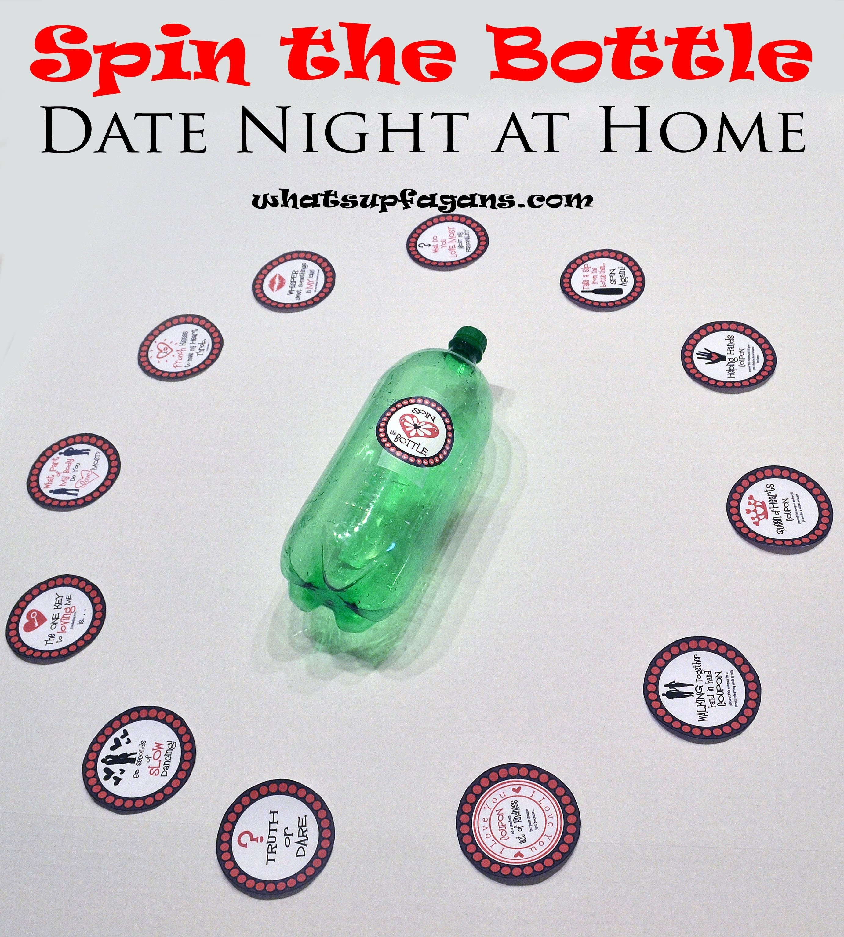 10 Attractive Fun Date Ideas At Home spin the bottle date night for couples year of dates month 11 3 2021