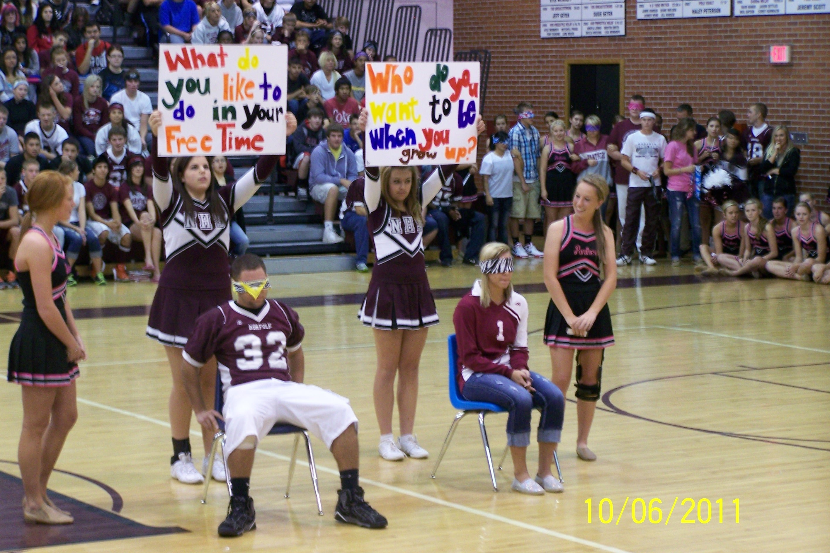 10 Fantastic Pep Rally Ideas High School spirit day pep rally panther project 2