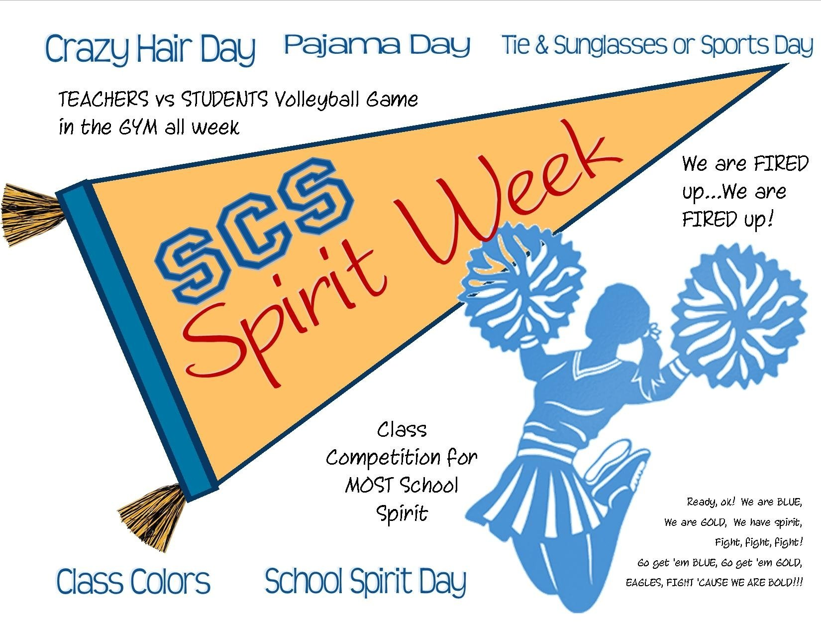 10 Unique High School Spirit Week Ideas spirit week and homecoming southlands christian schools 3 2021