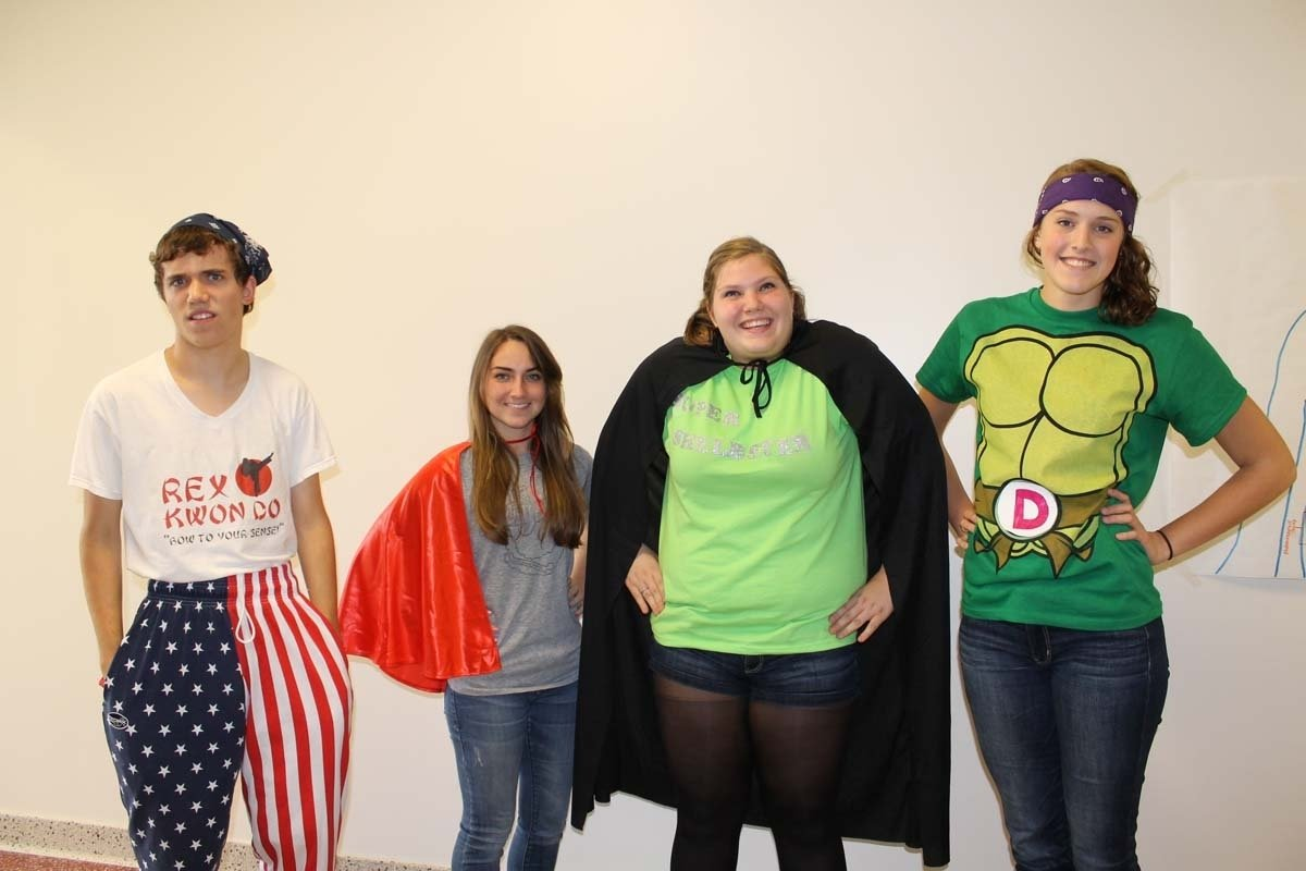 10 Famous Superhero Ideas For Spirit Week spirit week superhero day talawanda tribune 1 2021