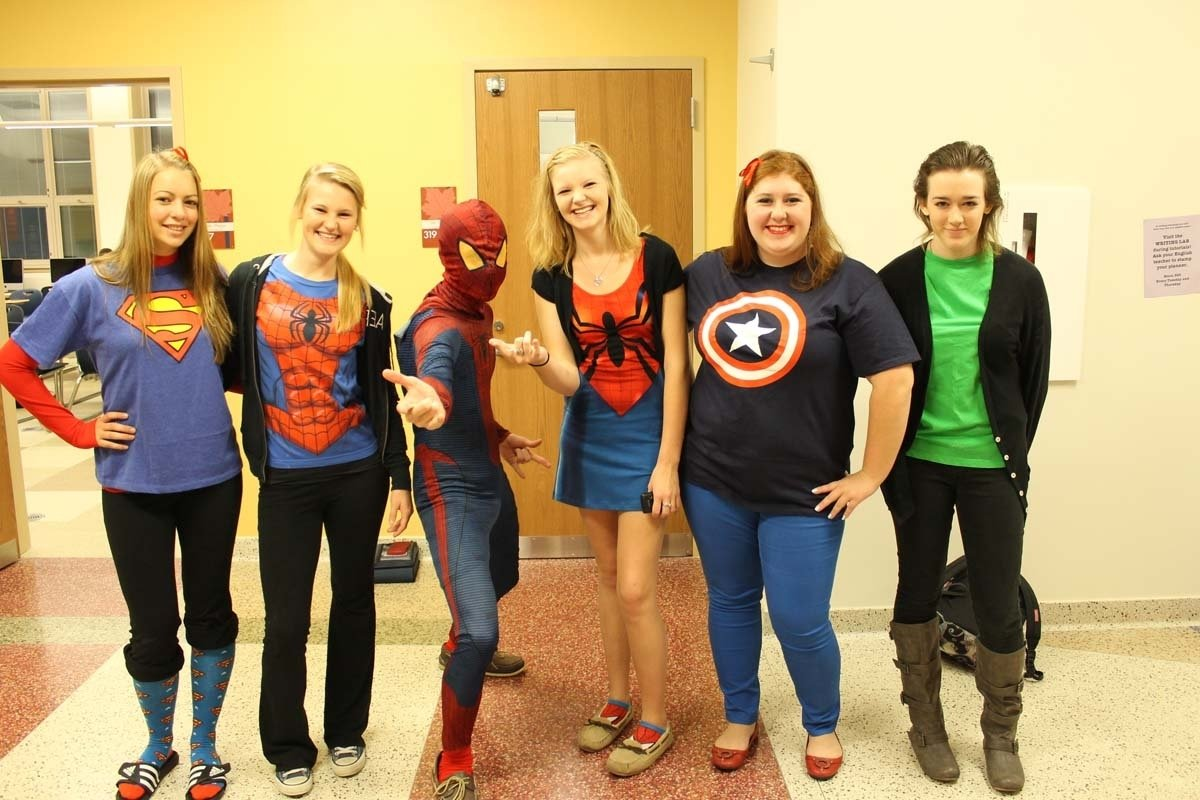 10 Famous Superhero Ideas For Spirit Week spirit week superhero day talawanda tribune 2 2020