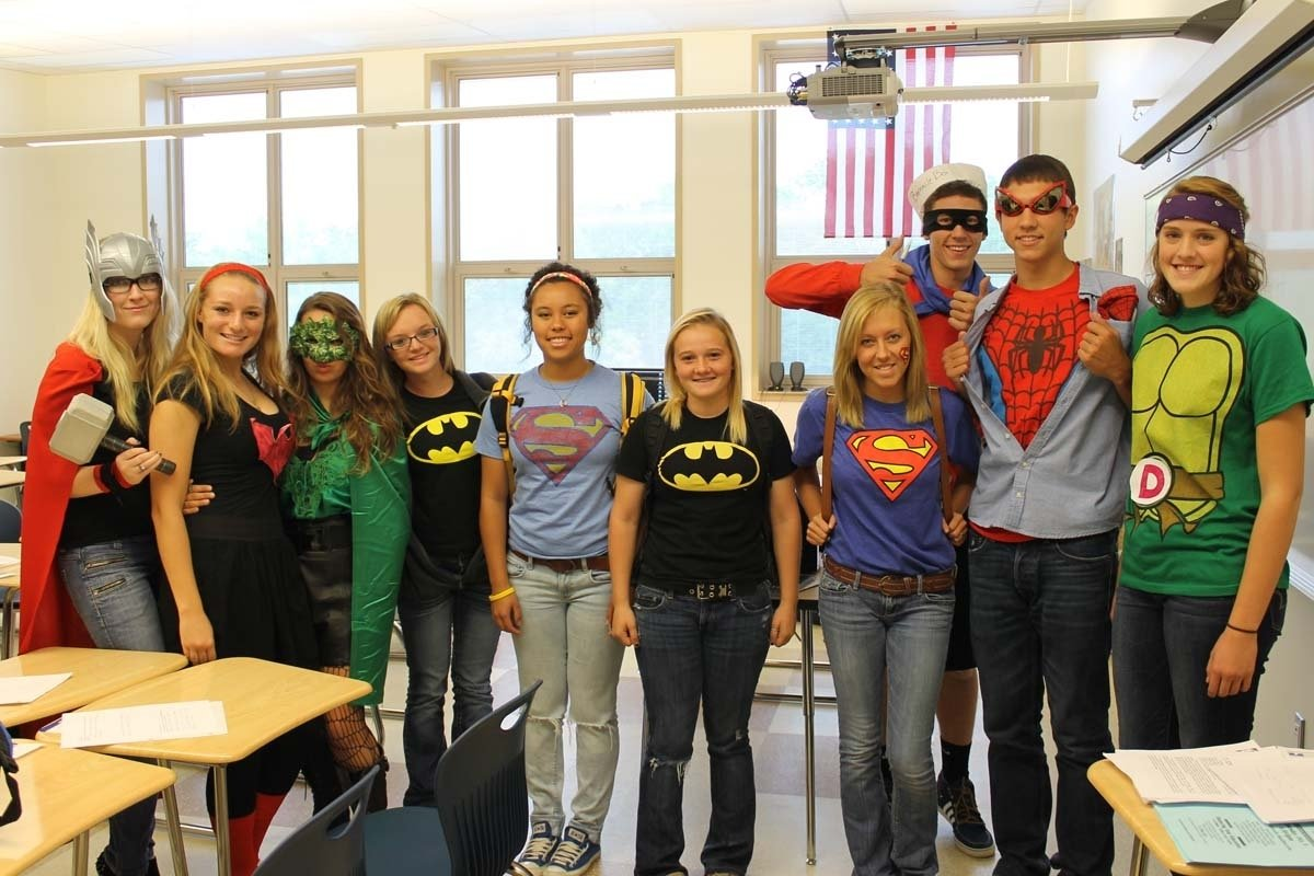 10 Famous Superhero Ideas For Spirit Week spirit week superhero day talawanda tribune 3 2020