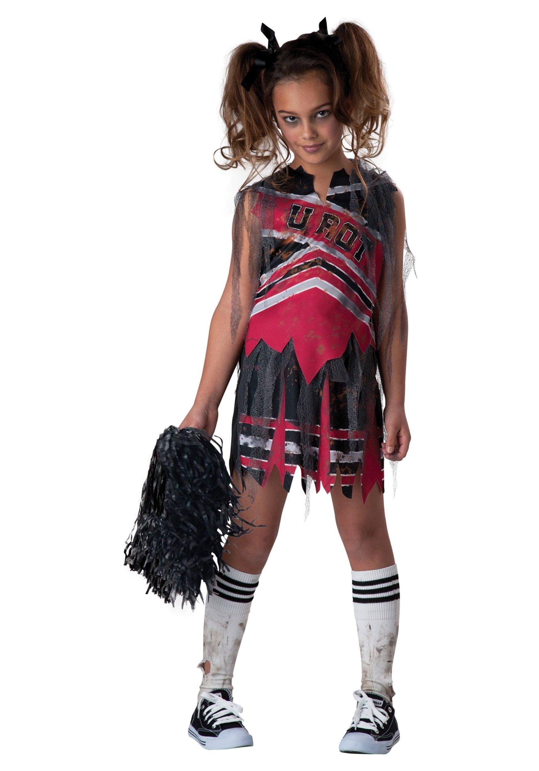 10 Attractive Zombie Costume Ideas For Kids spiritless cheerleader child costume 2021