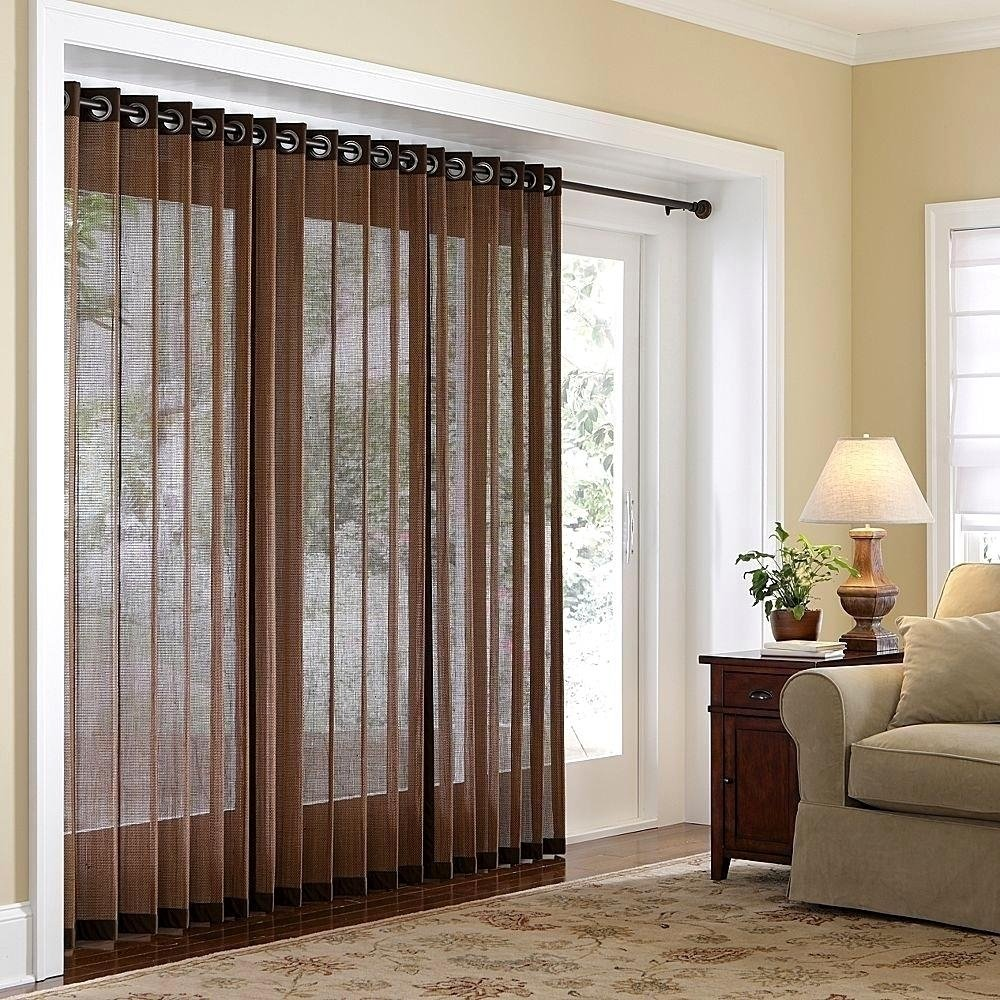 10 Attractive Curtains For Sliding Glass Doors Ideas splendid black curtains patio doors ideas doors in kitchen curtains 2020