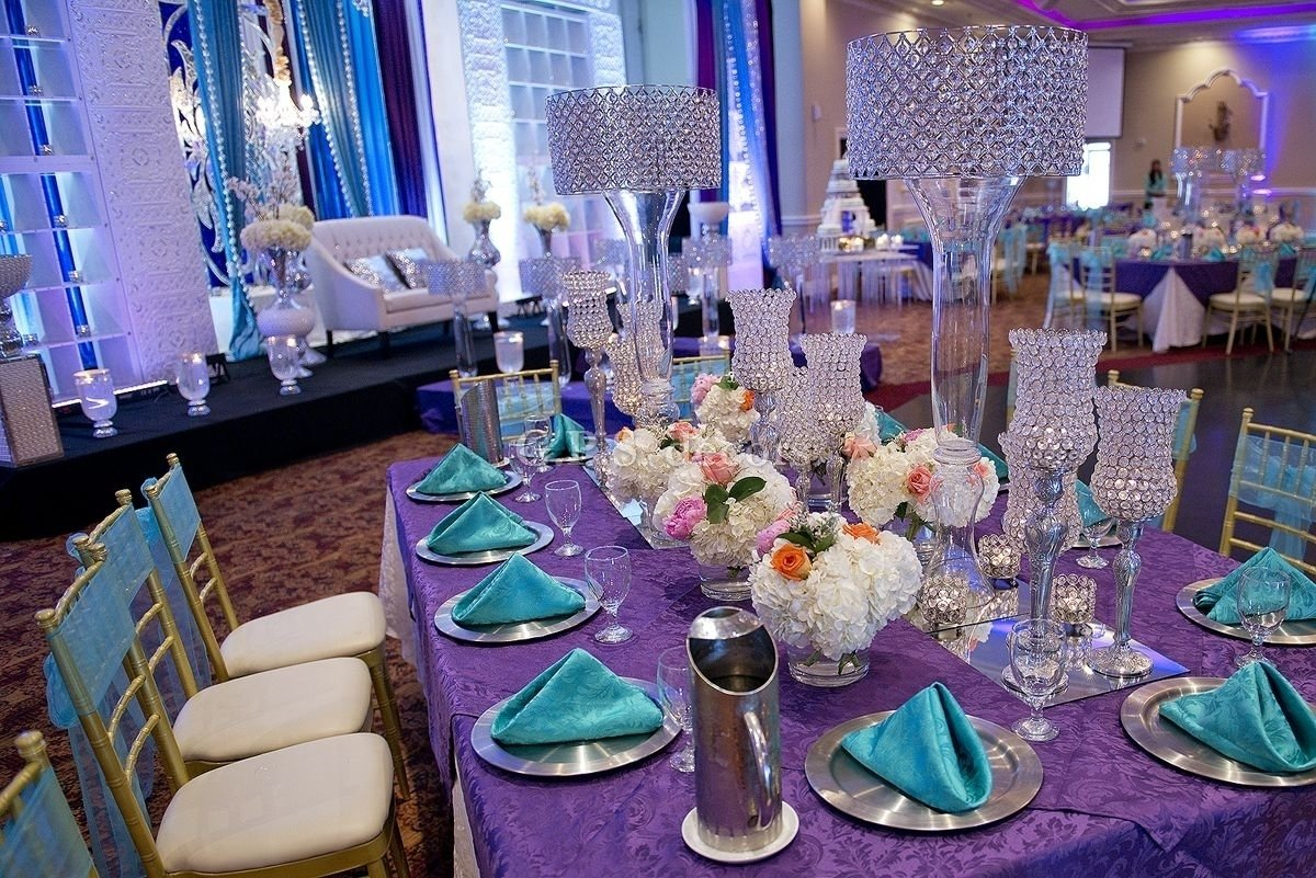 10 Perfect Purple And Turquoise Wedding Ideas
