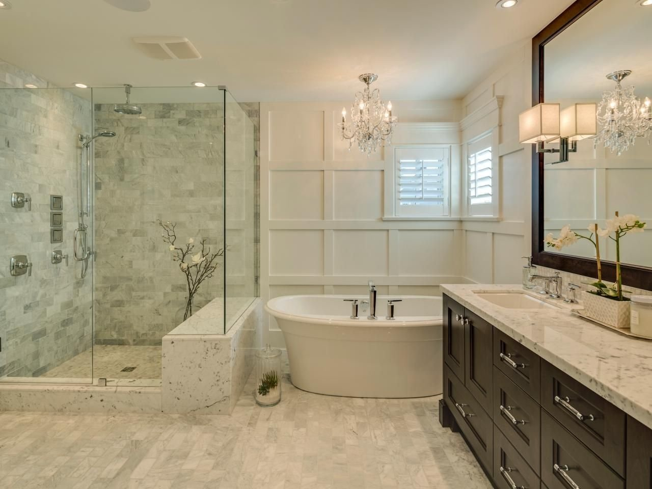 10 Most Recommended Master Bathroom Ideas Photo Gallery splurge or save 16 gorgeous bath updates for any budget budget