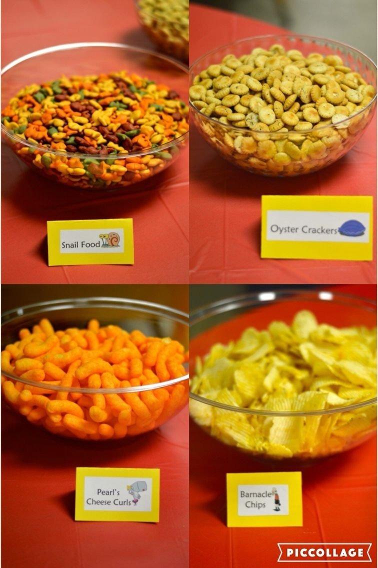 10 Trendy Spongebob Birthday Party Food Ideas spongebob party food jasons spongebob party pinterest food 2020