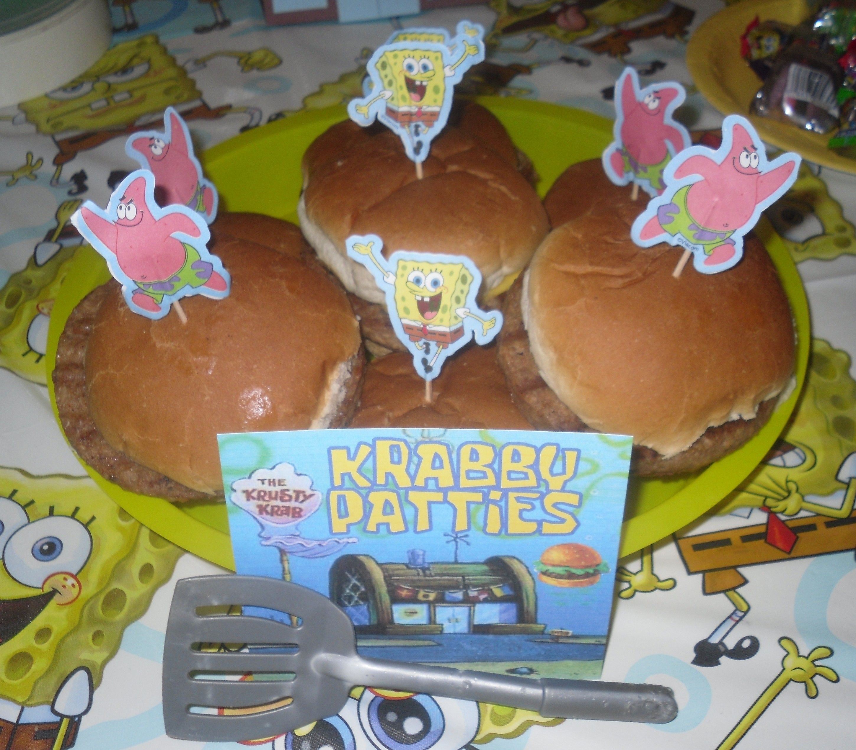 spongebob party food. | party ideas | pinterest | food, birthdays