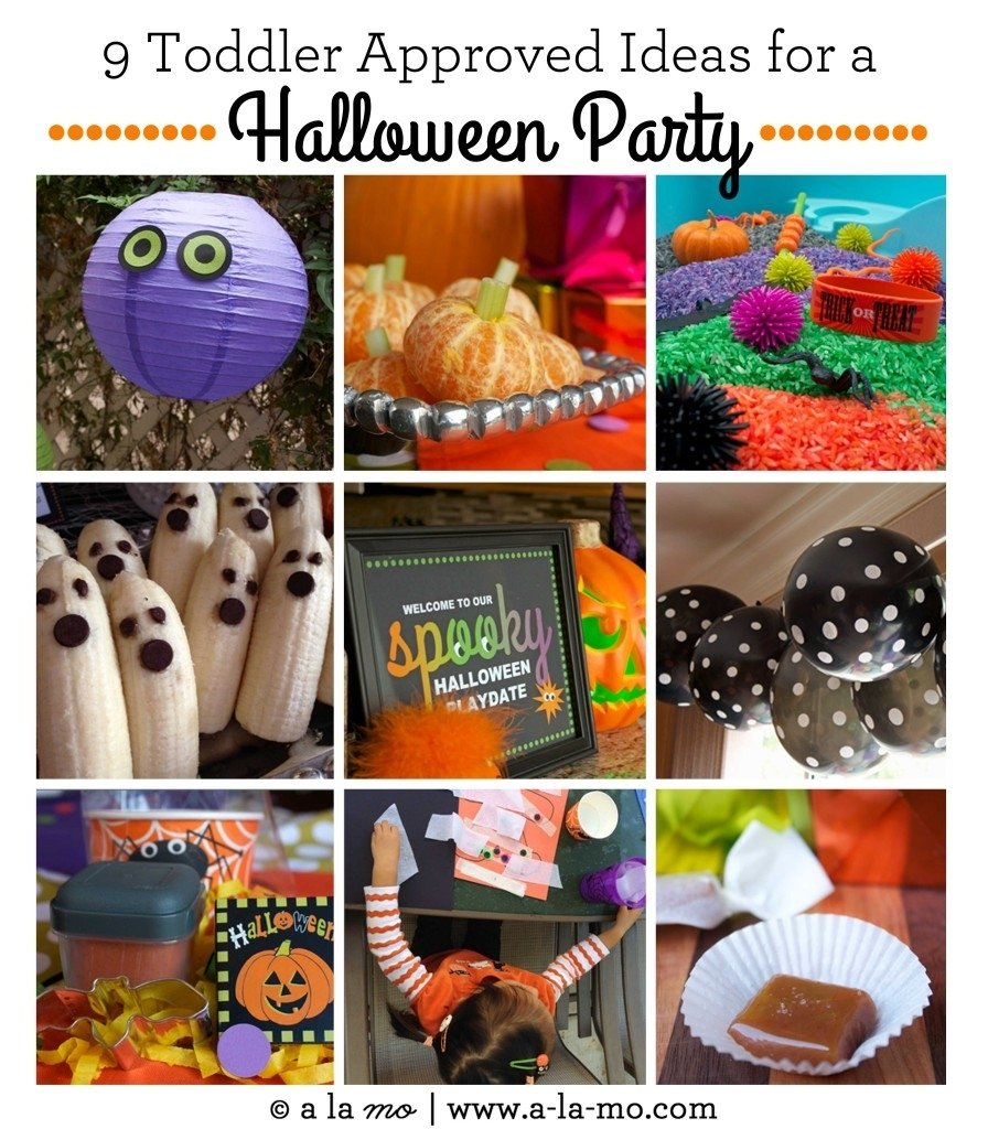 10 Gorgeous Halloween Party Ideas For Toddlers spooky toddler playdate a halloween party 2020