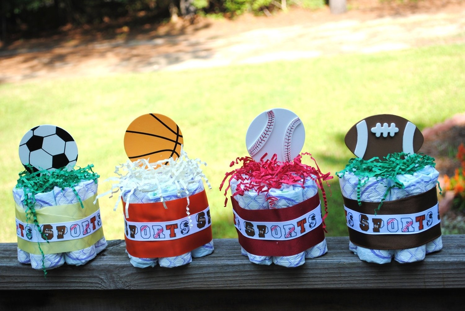 sports theme baby shower | baby shower ideas gallery