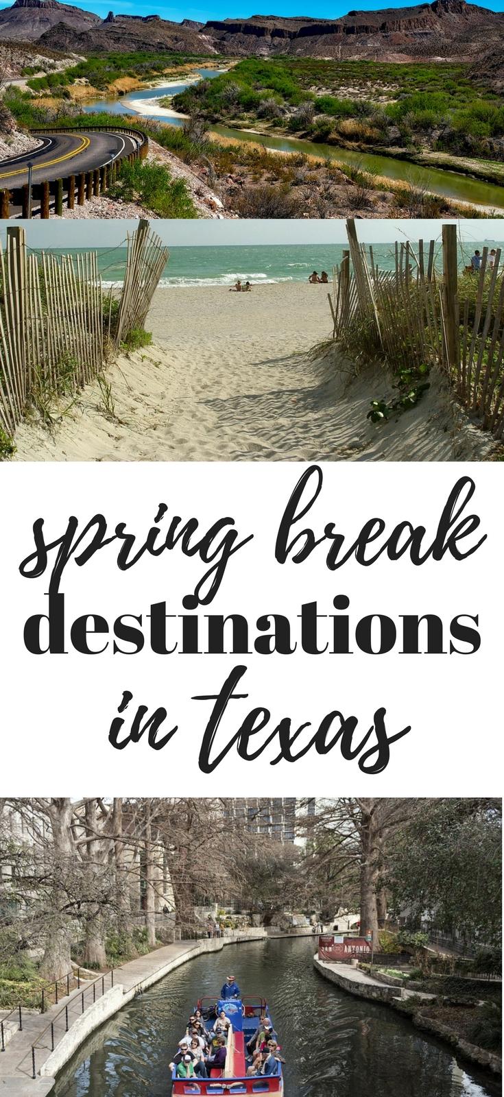 10 Attractive Spring Break Ideas In Texas spring break destinations in texas spring break destinations 2021