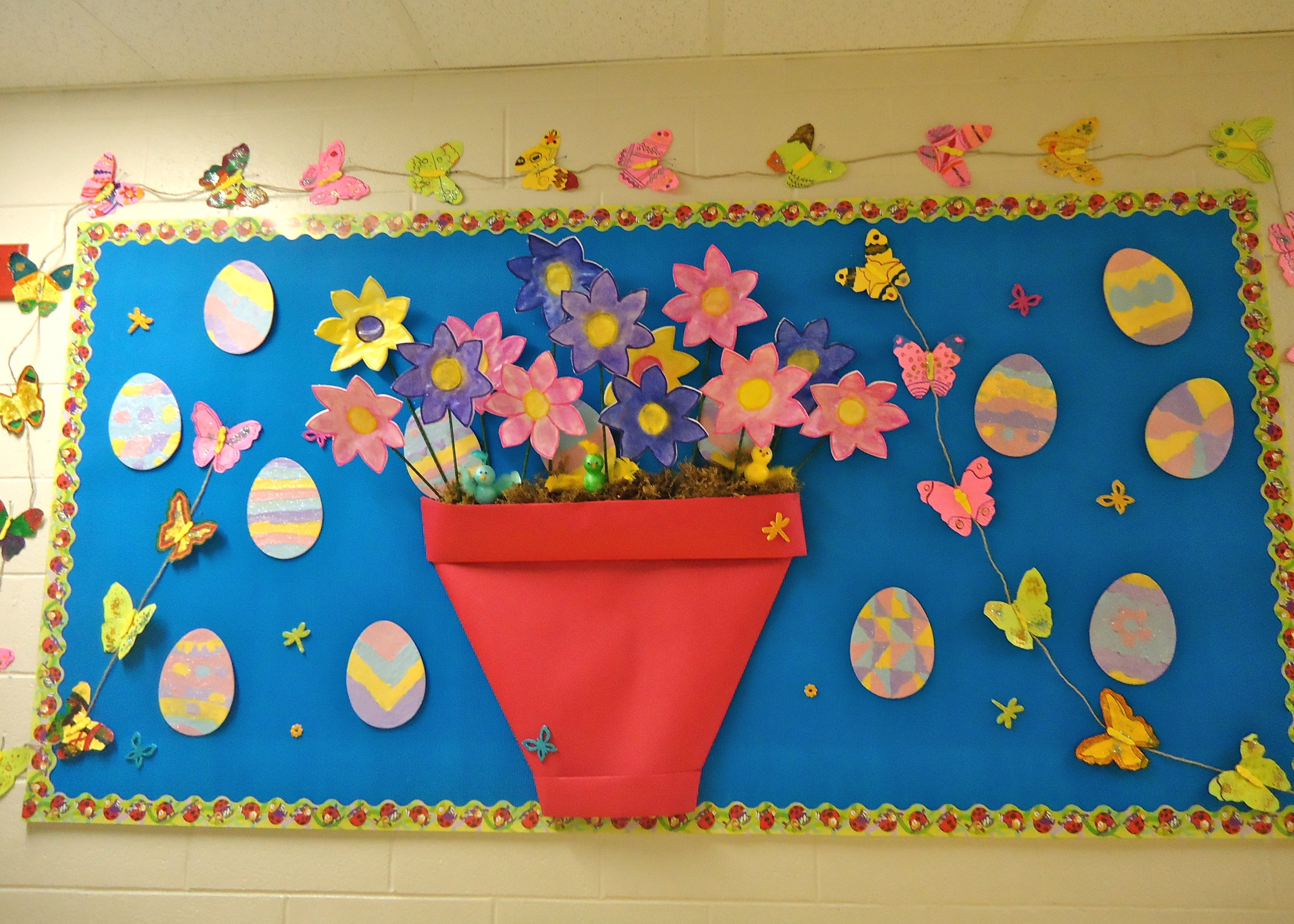 10 Attractive Spring Bulletin Board Ideas Preschool spring bulletin board ideas for preschool classroom spring 2 2021
