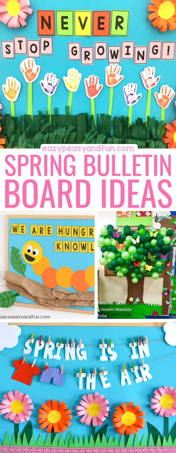 10 Most Popular Bulletin Board Ideas For Spring spring bulletin board ideas for your classroom easy peasy and fun