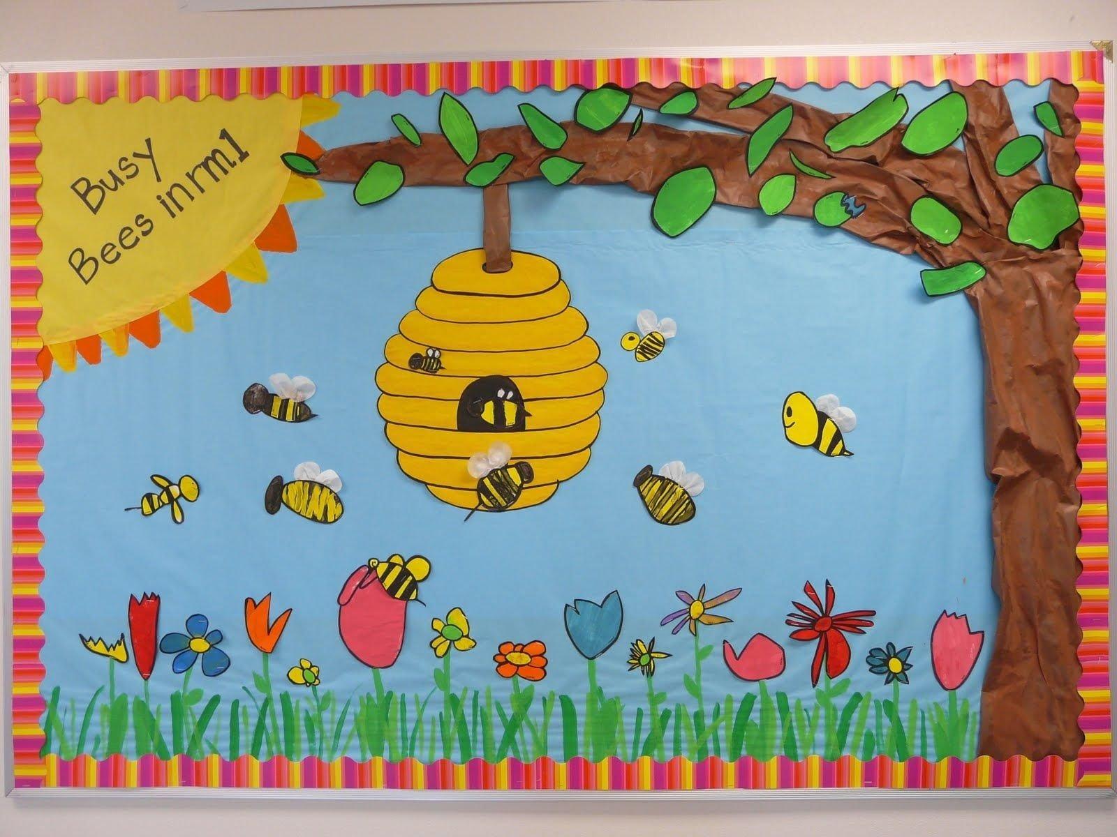10 Attractive Spring Bulletin Board Ideas Preschool spring bulletin board ideas postedbulletin boards at 1004 am 4 2021