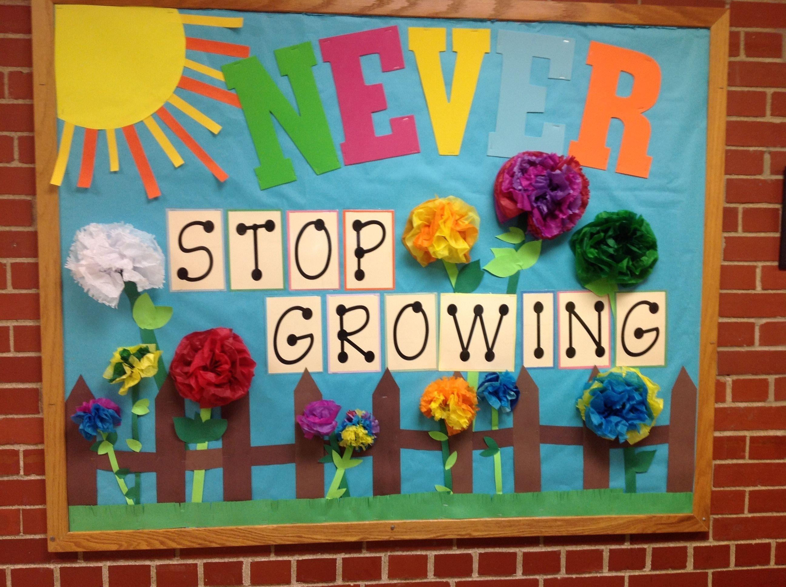 10 Pretty Bulletin Board Ideas For April spring bulletin board school bulletin boards pinterest 1 2020