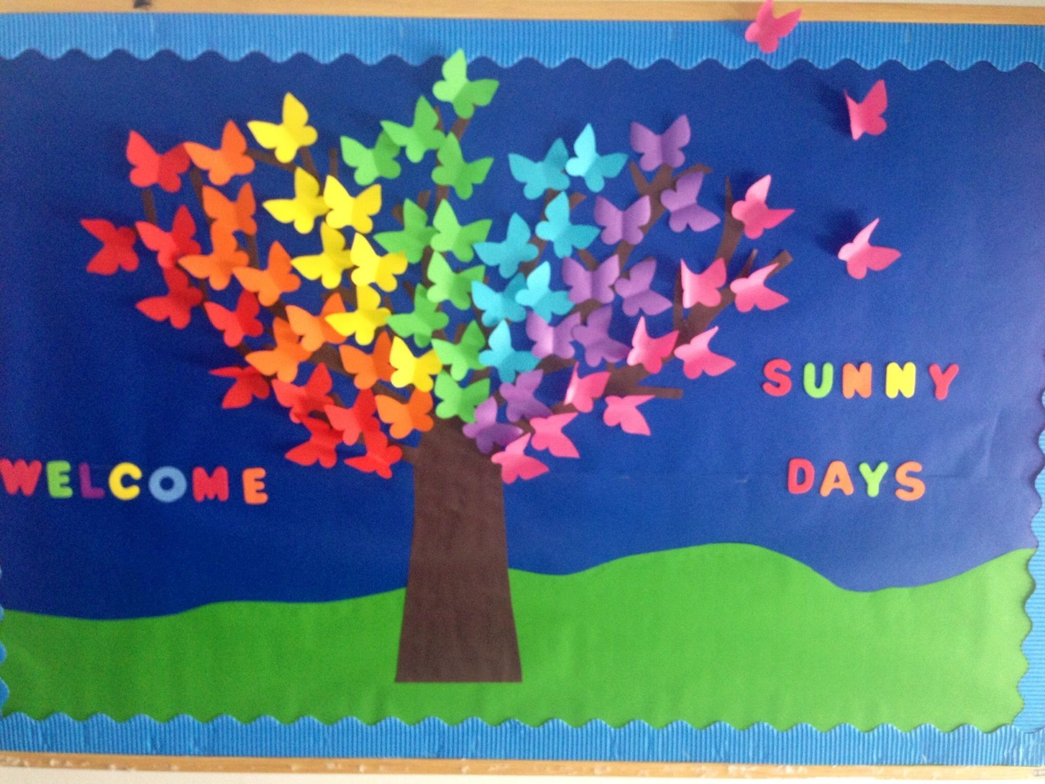 10 Most Popular Bulletin Board Ideas For Spring spring bulletin boards kindergarten of cambridge school romania 1