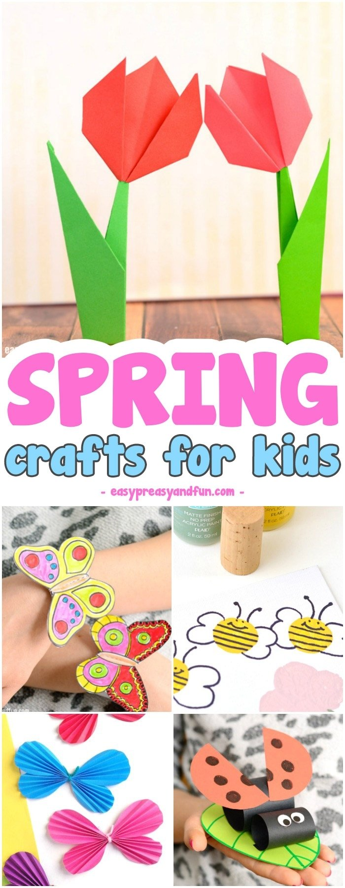 10 Fabulous Spring Craft Ideas For Kids spring crafts for kids art and craft project ideas for all ages 1 2021
