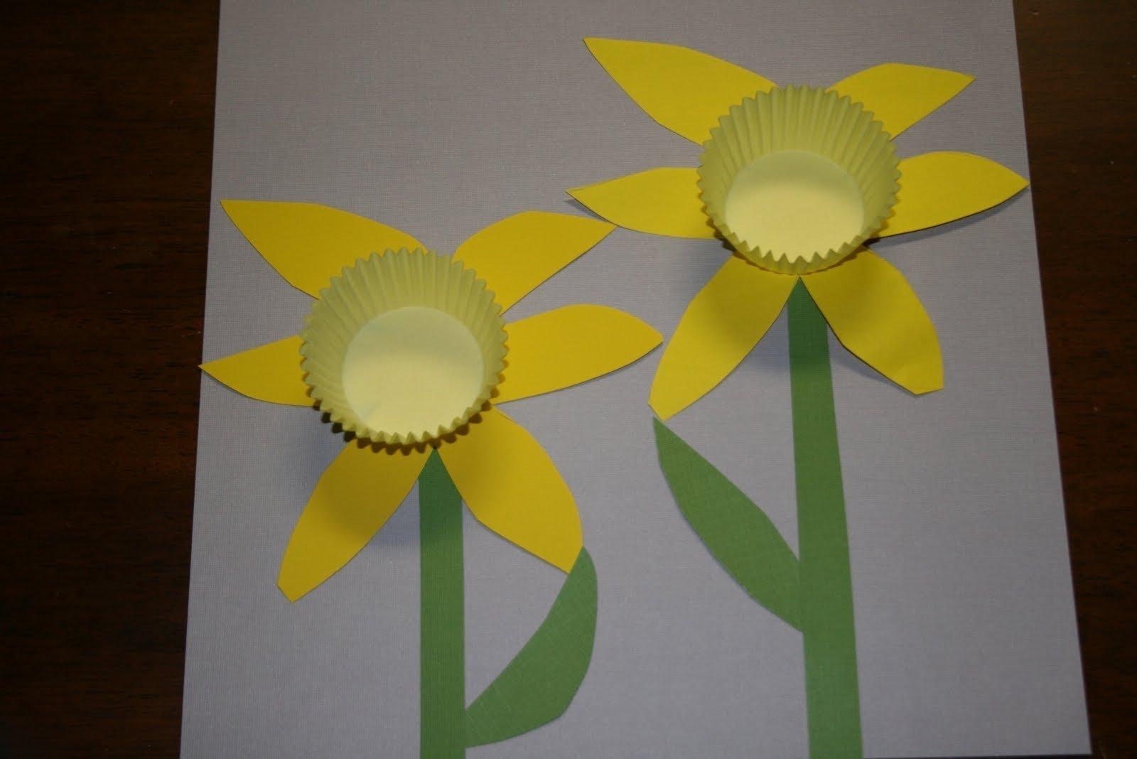spring crafts for kindergarten | ye craft ideas