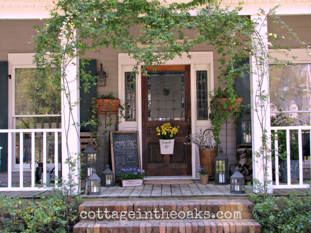 10 Ideal Front Porch Decorating Ideas For Spring spring front porch front porches porch and spring 2021
