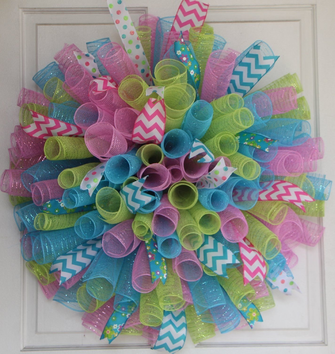 10 Cute Easter Deco Mesh Wreath Ideas spring mesh wreaths ideas home design www spikemilliganlegacy