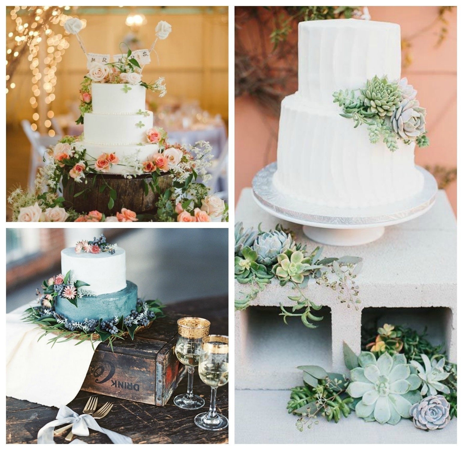 10 Fantastic Wedding Cake Table Decoration Ideas spruce up your cake table our favorite ideas for wedding cake table