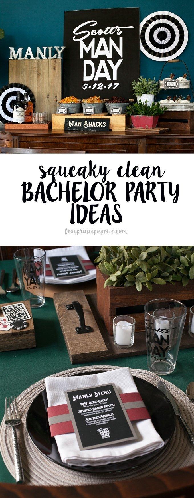 10 Elegant Last Minute Bachelor Party Ideas squeaky clean bachelor party ideas with cricut frog prince paperie 2020