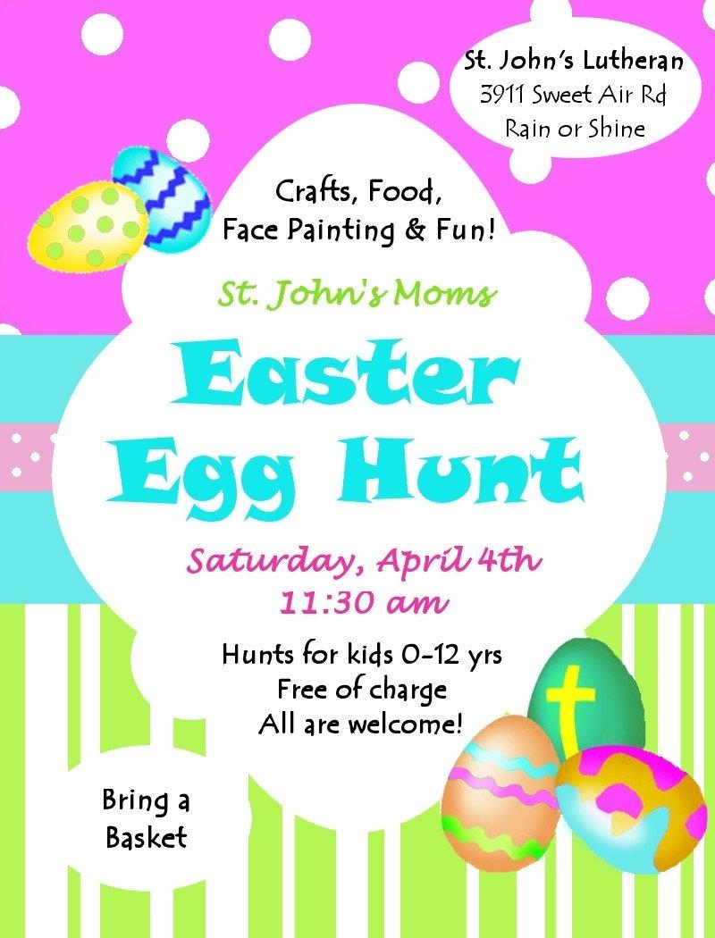 10 Beautiful Church Easter Egg Hunt Ideas st johns lutheran church sweet air 2nd annual easter egg hunt 2020