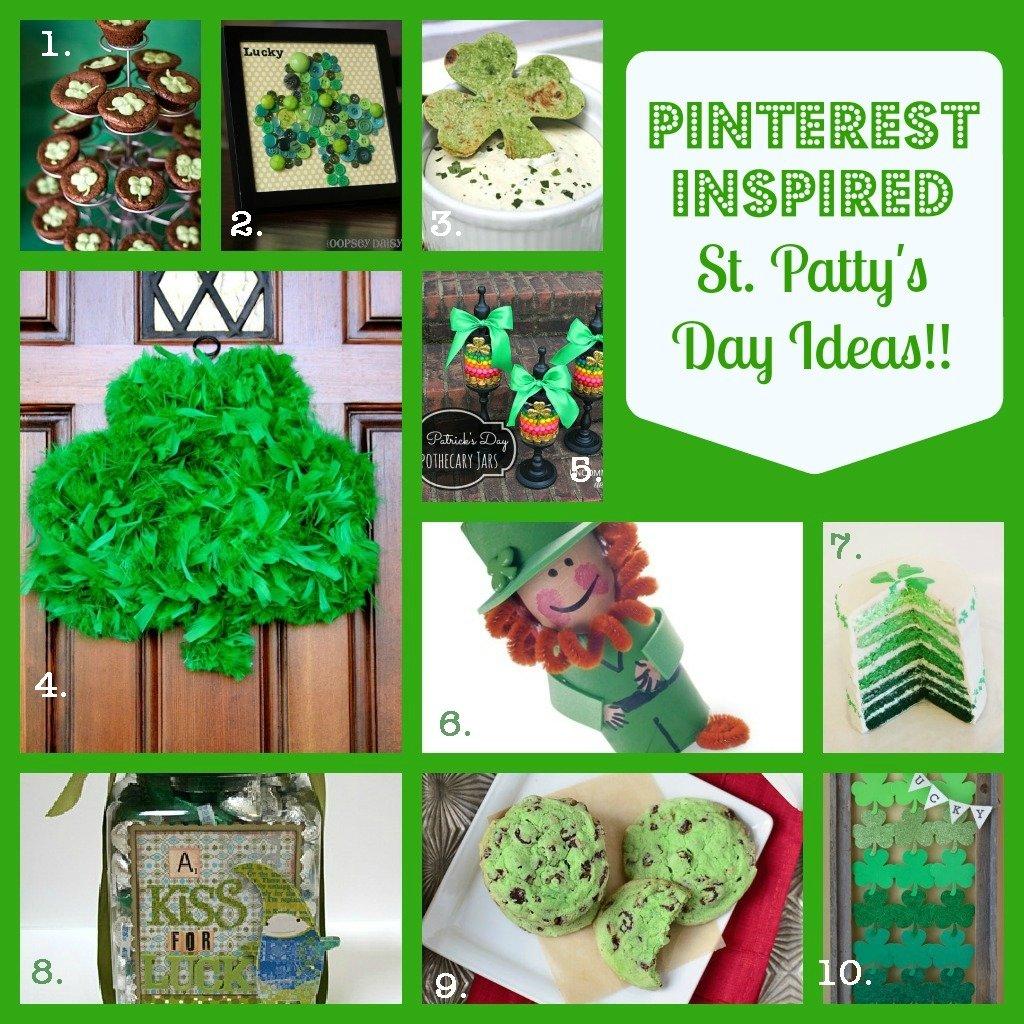 10 Lovable St Patricks Day Craft Ideas st patricks day crafts recipes pinterest inspired fun a 2020