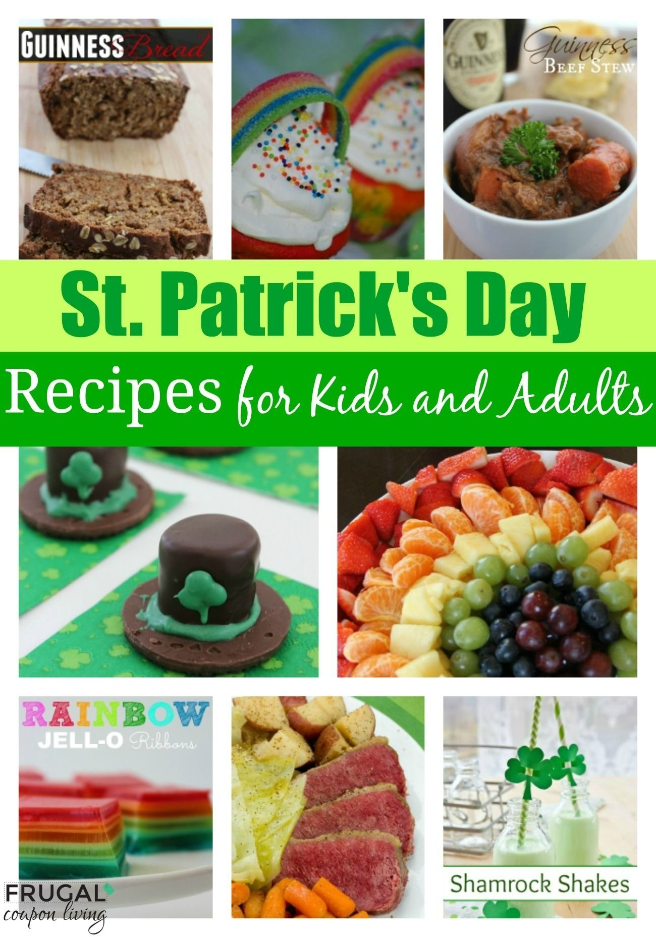 10 Elegant St Patricks Day Food Ideas st patricks day food ideas for kids and adults 2020