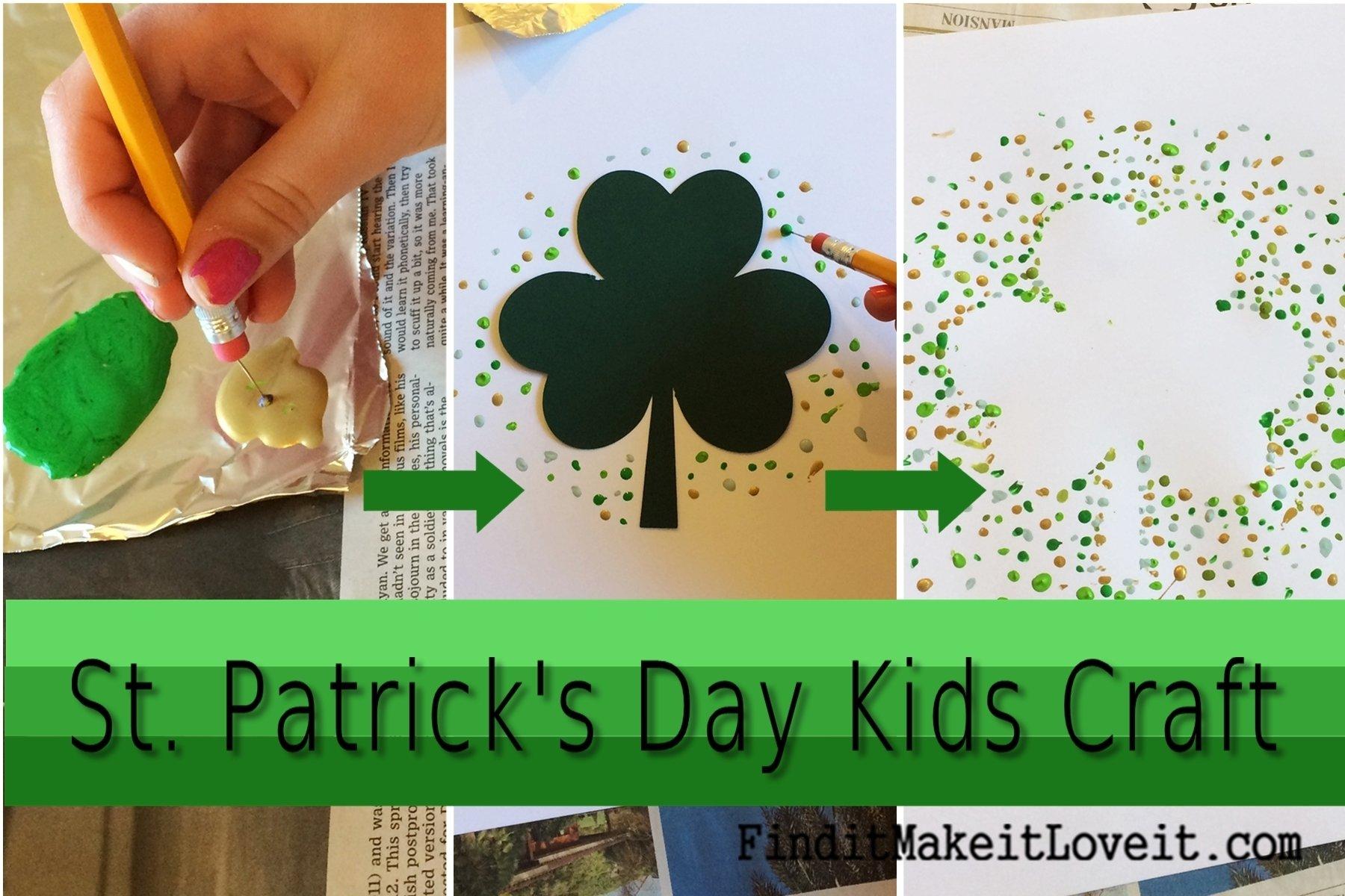 10 Cute St Patrick Day Craft Ideas st patricks day kids craft find it make it love it 2021