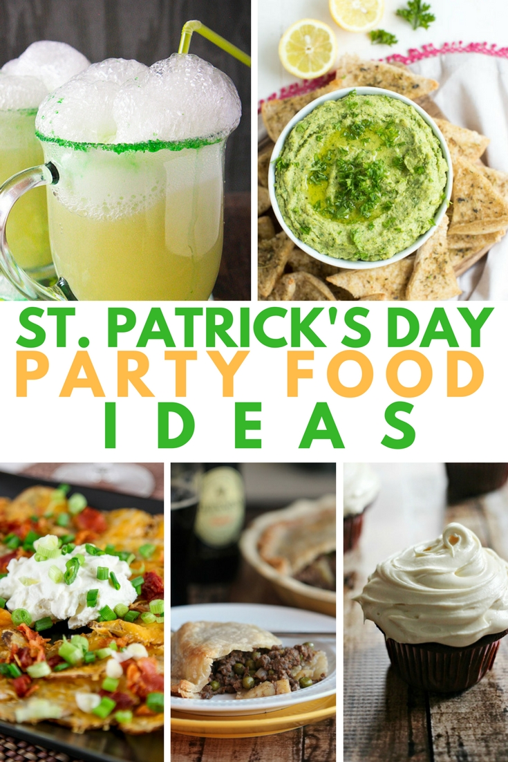 10 Lovable St Patrick Day Party Ideas st patricks day party food ideas a grande life 2020