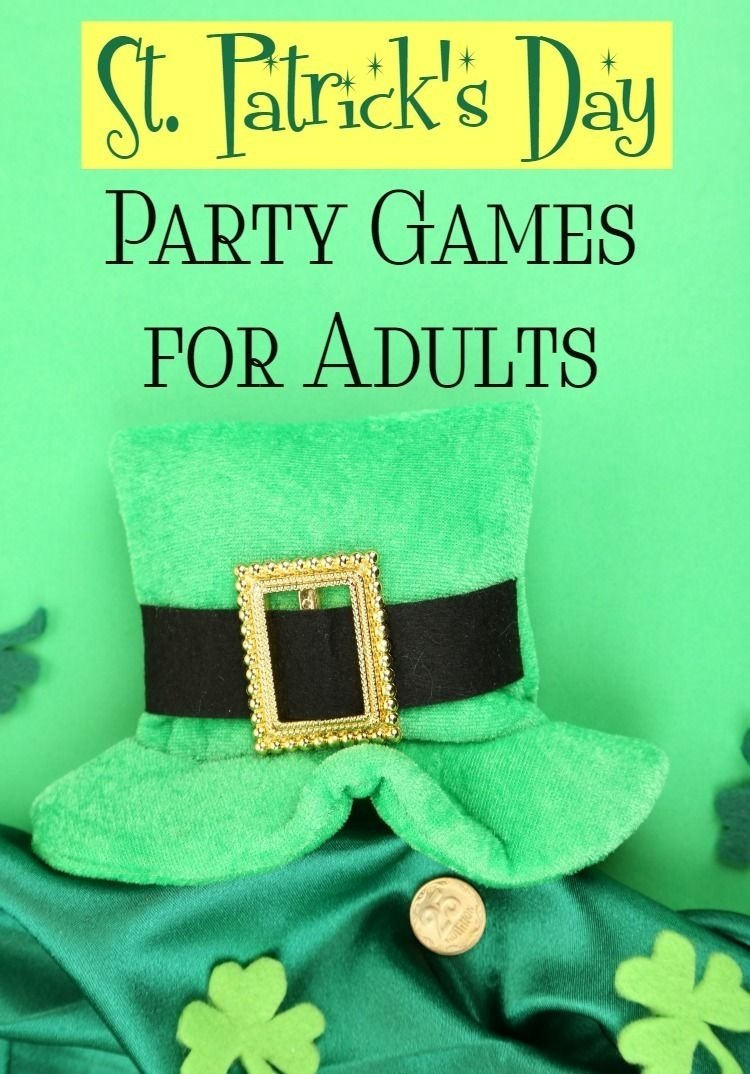 10 Lovable St Patrick Day Party Ideas st patricks day party games for adults drinking games party 2020
