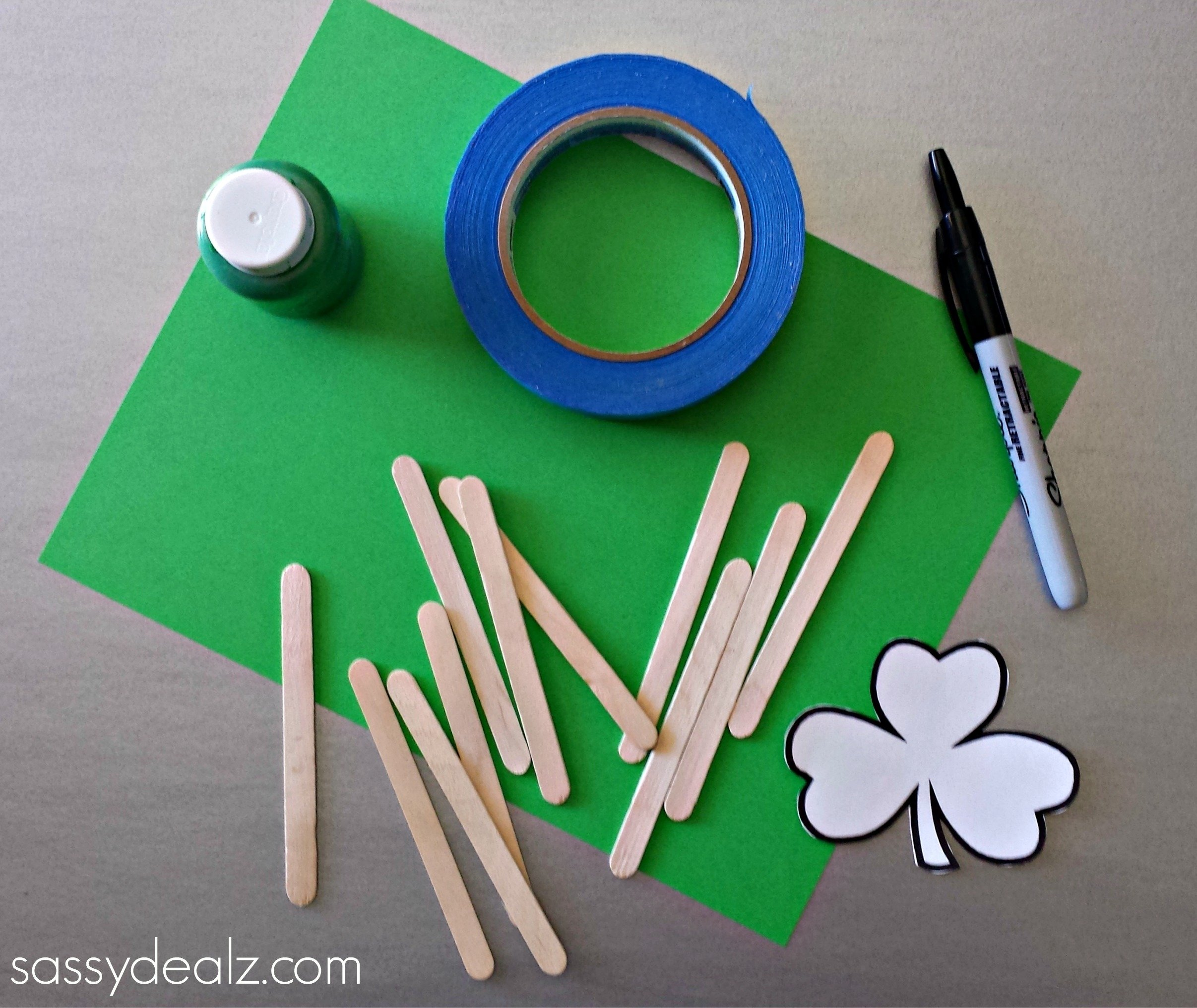 10 Cute St Patrick Day Craft Ideas st patricks day popsicle stick craft diy puzzles crafty morning 2021