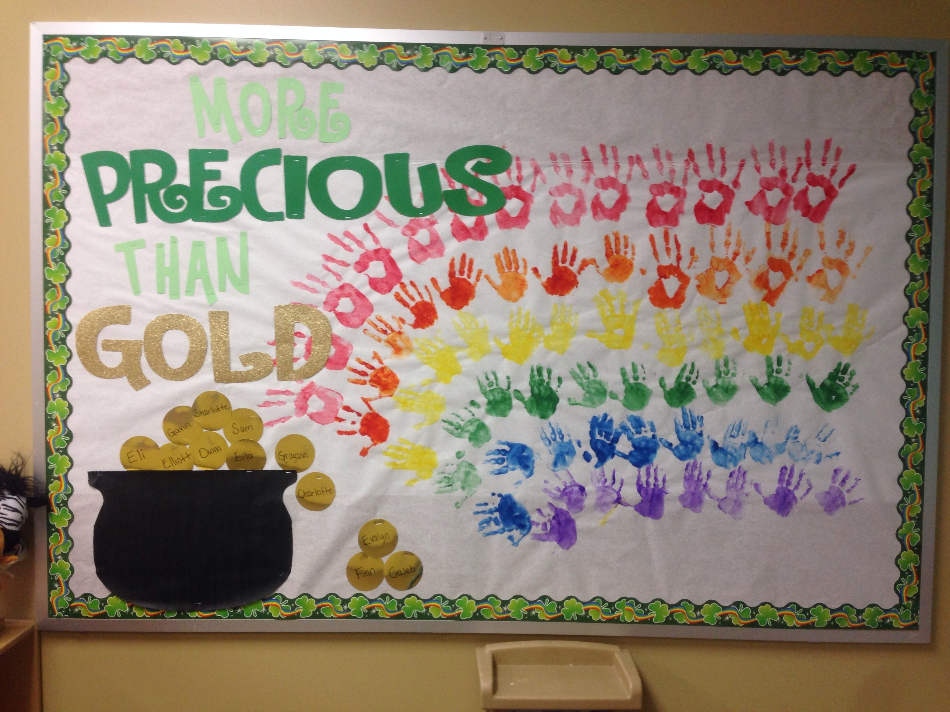 10 Amazing St Patrick Day Bulletin Board Ideas st patricks day preschool bulletin board bulletin boards